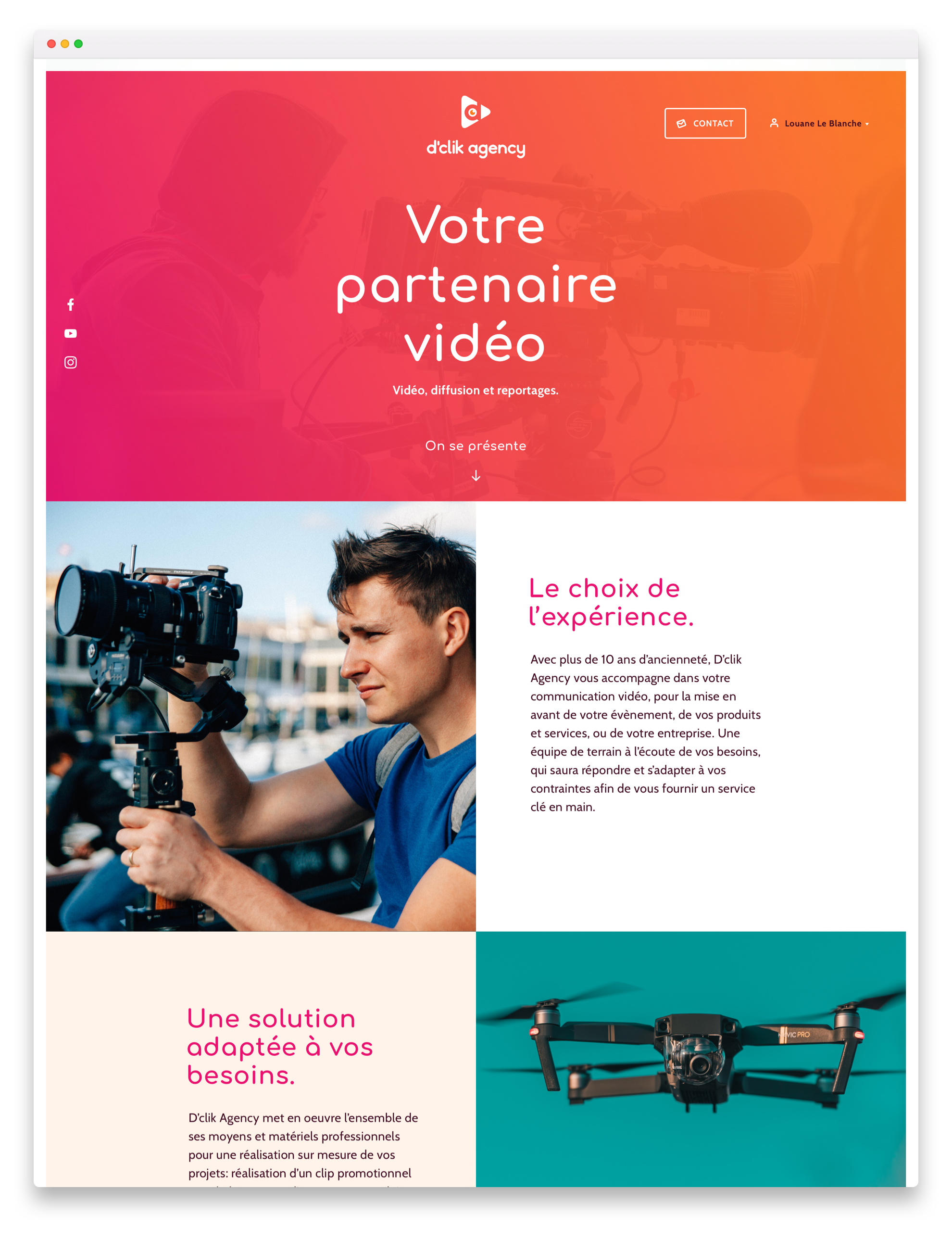 D'clik Agency - Webdesign