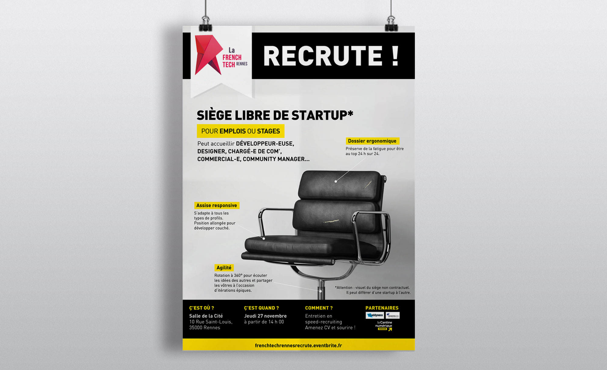 La French Tech de Rennes recrute