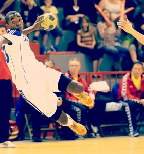 Handball - France Roumanie - Banner