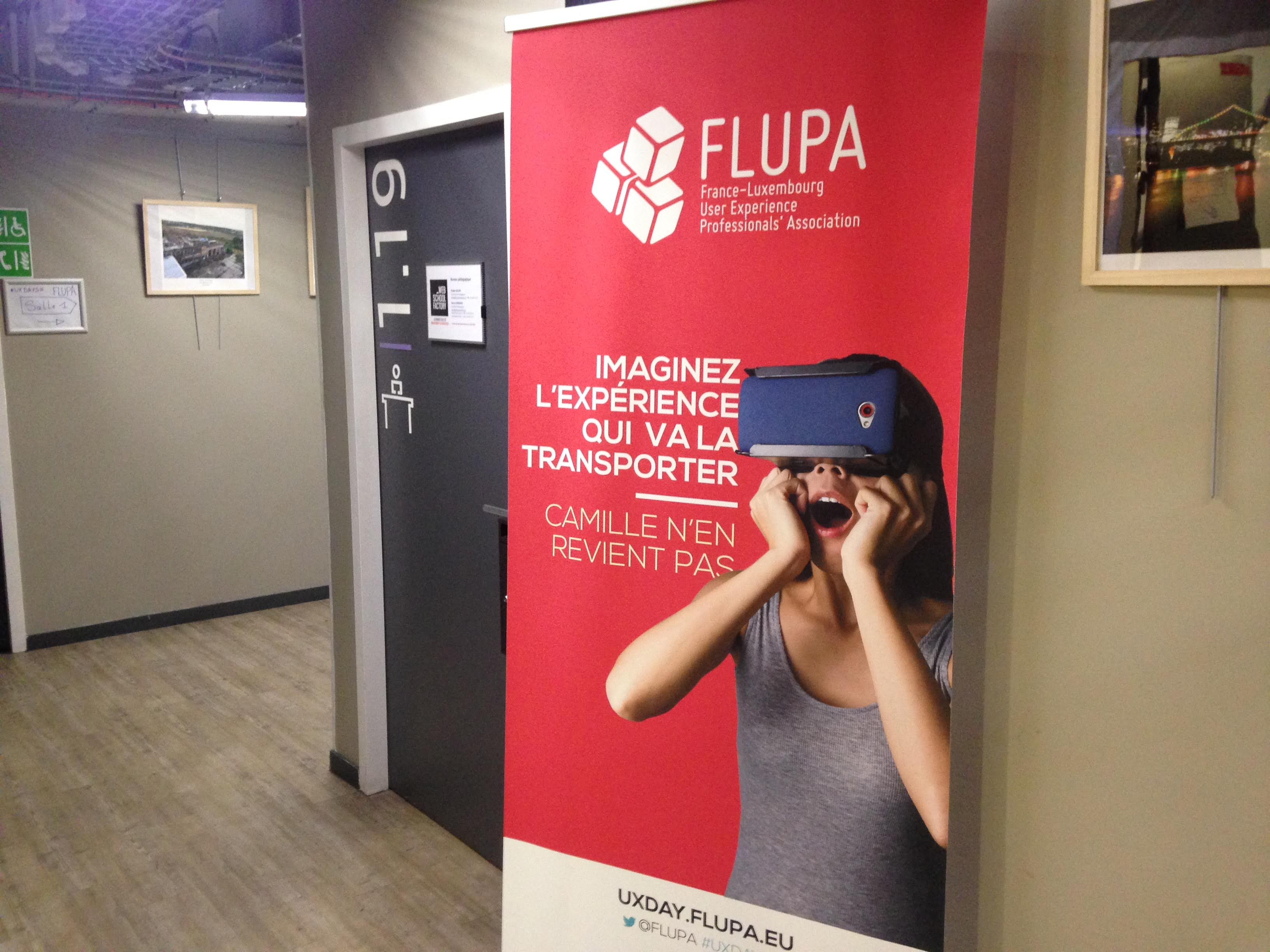 Rollup Flupa UX Days 2016