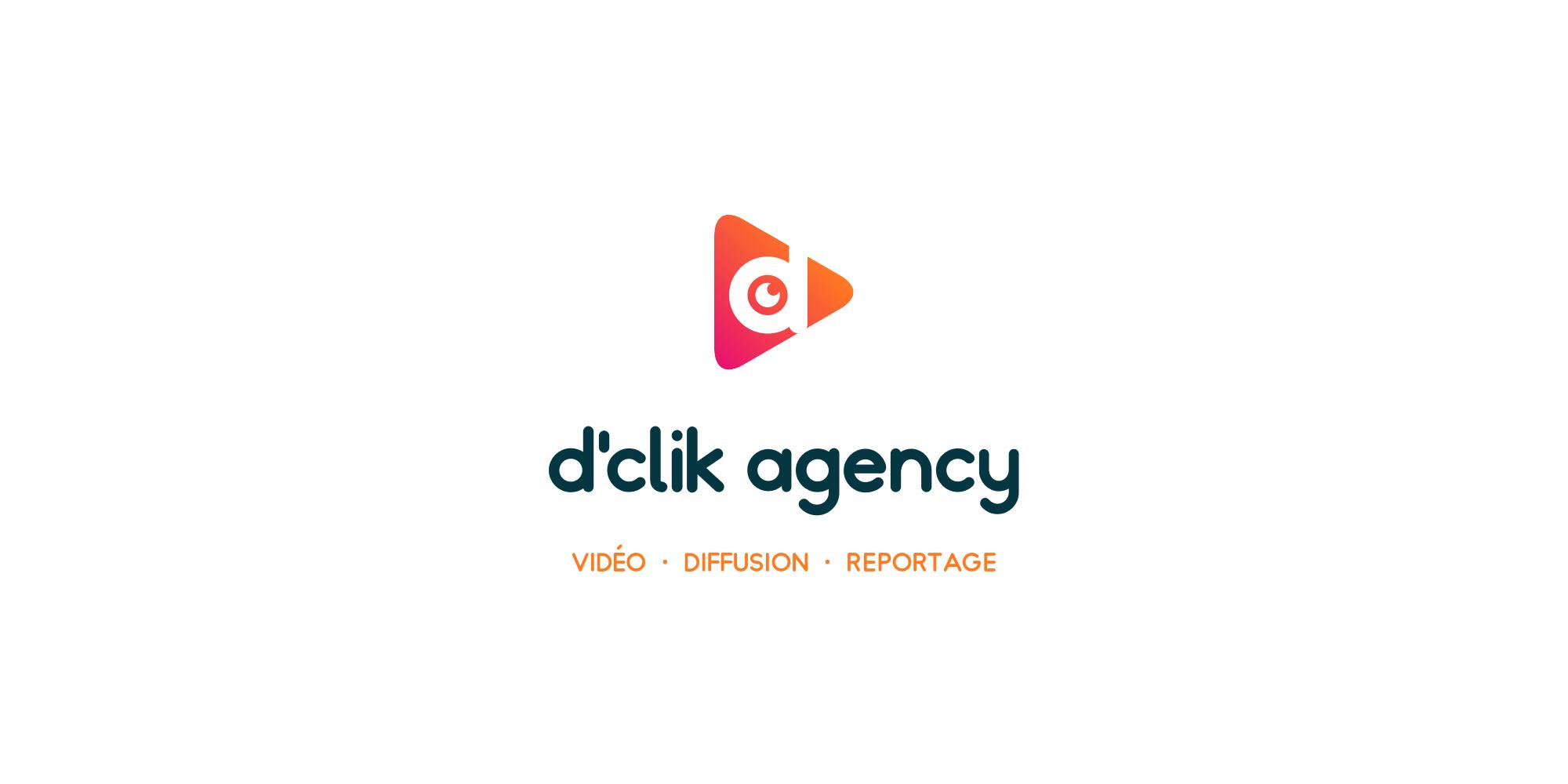 D'Clik Agency - Logo fond blanc