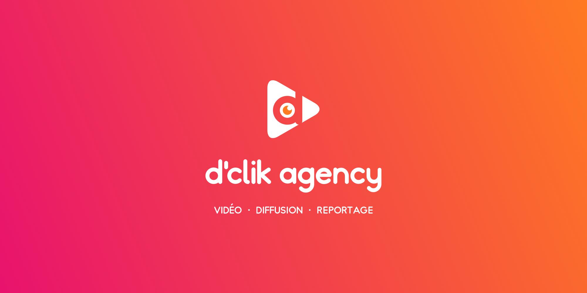 D'Clik Agency - Logo fond dégradé