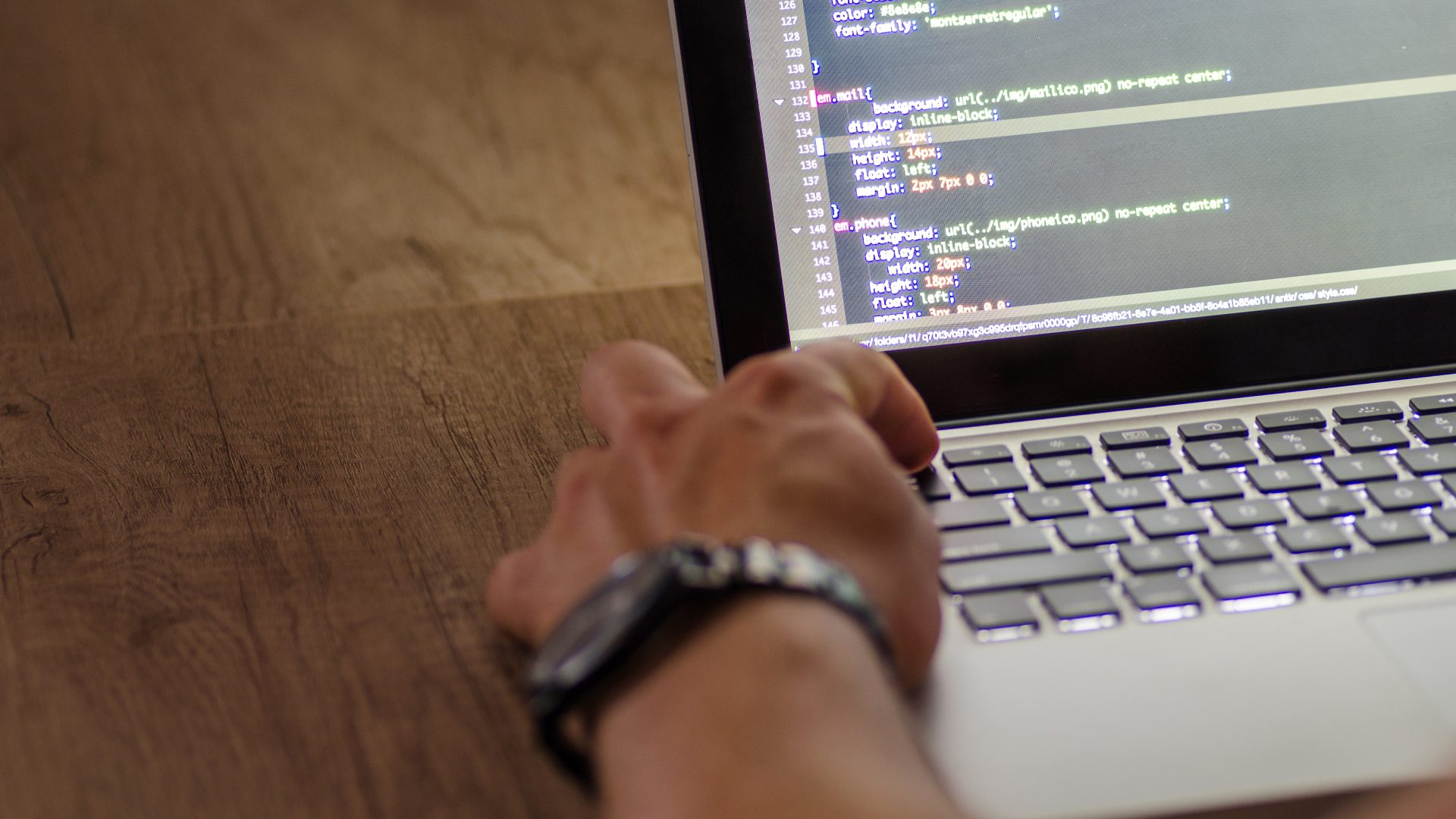 Developper coding